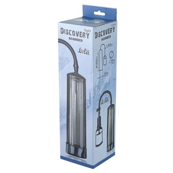 Вакуумная помпа Discovery Light Boarder Charcoal 6911-01lola